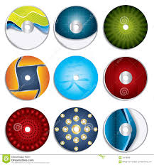 Royalty-Free Stock Photo. Download CD & DVD label ...