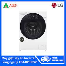 Tháng 11: Máy giặt sấy LG Inverter 10.5 kg lồng ngang FG1405H3W1 giá chỉ  18.989.000