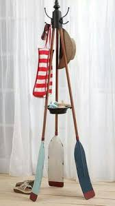 Boat Oar Coat Rack 100 Creative Oar Wall Rack Ideas Towels Wall racks and Painted oars 9