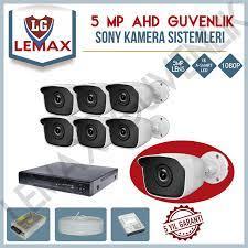 6 Kameralı Gece Görüşlü Güvenlik Kamerası Sistemleri