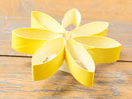 Make Flower With Paper 3 Ways To Make Flowers Made Of Toilet Paper Wikihow