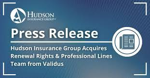 Hudson insurance group is the u.s. Hudson Insurance Group Linkedin