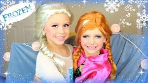 disney s frozen elsa and a makeup tutorial costume makeup and hair you