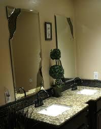 chipped beveled vanity mirrors