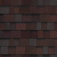 owens corning architectural shingles colors. Owens Corning Duration Designer Colors - Merlot Architectural Shingles