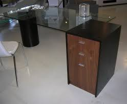 simple glass top office desk for interior home design style with glass top office desk