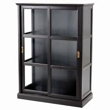 display cabinets glass display cabinets ikea malsj glass door cabinet black stained black stained width