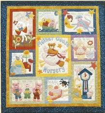 132 best Baby quilt images on Pinterest | Sunbonnet sue, Draw and ... & MOTHER GOOSE Nursery Rhyme Quilt or Wall Hanging Patterns - 10 Patterns -  Kookaburra - Applique Adamdwight.com