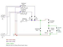 electrical what's the correct fusing for a headlight relay motorcycle headlight relay wiring diagram at Headlight Relay Wiring Diagram