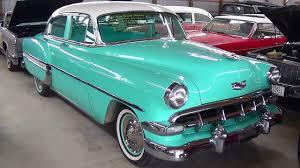 1954 Chevrolet Bel Air Hot Rod Sedan V8 - YouTube
