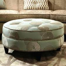 round ottoman coffee table upholstered round ottoman coffee table upholstered in upholstered ottoman