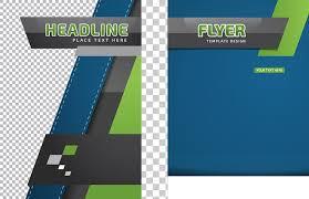 Flyer Header Flyer Exquisite Single Page Flyer Design Material Headline