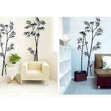 office deco. Modren Office New Bamboo Mural Removable Craft Art Black Wall StickerDecal  Living Room  Office And Deco D