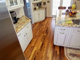 tigerwood plank room kitchen hardwood flooring