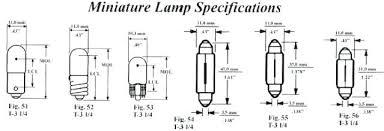 Automotive Miniature Bulb Chart Automotive Light Bulbs Cross Reference Wfuatggj Info