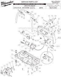 49 24 0280_(SER_A81B)_WW_1 milwaukee 49 24 0280 parts list and diagram (ser a81b on electrolux 2100 vacuum wiring diagrams schematics