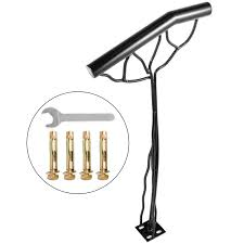 Diy handrail kits are easy and fast to assemble! Vevor Step Handrail For 2 Step Single Post Handrail Branch Type Metal Handrail For Stairs Iron Material Stair Hand Rail With Installation Kit 18l X 38h Inch Wrought Iron Handrails Walmart Com Walmart Com