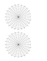Free Polar Coordinate Graph Paper Templates At