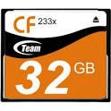 Compact Flash Card 32GB Team 233x
