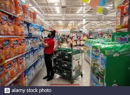 Tesco Lotus Supermarket Bangkok Thailand Stockfotos und -bilder Kaufen -  Alamy