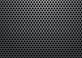 Silver Metal Background With Hexagon Stock Vector Colourbox