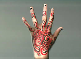 cool designs to draw with sharpie. Sharpie Hand Design By Animebecca666 Cool Designs To Draw With Sharpie N