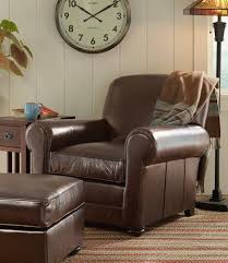 Bean's Leather Lodge Chair: Chairs at L.L.Bean