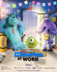 Monsters at Work Poster - PosterSpy