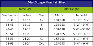 Bicycle Size Chart Bike Size Chart Compton Cycles London Brompton Folding