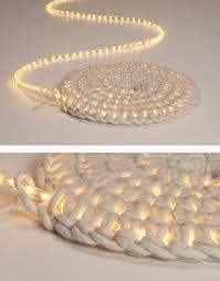 Image Hula Hoop String Light Diy Ideas For Cool Home Decor Diy Led Carpet Light Are Fun For Pinterest 33 Awesome Diy String Light Ideas Cool Diy Projects Diy Crochet