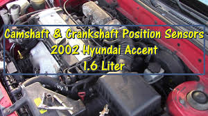 how to replace camshaft crankshaft position sensors on a 2002 how to replace camshaft crankshaft position sensors on a 2002 hyundai accent by gettinjunkdone
