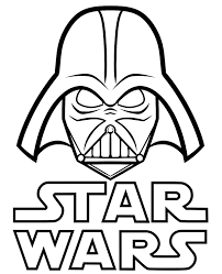 (images are designed to print. Star Wars Logo And Vader On A Unique Coloring Page Sheet Books
