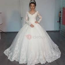 cheap muslim wedding dresses, indian muslim bridal dresses online Wedding Dress Rental Online India vintage v neck long sleeves appliques muslim ball gown wedding dress Wedding Dresses for Rent