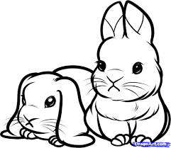 Small Picture Printable Coloring Pages Of Baby Bunnies Animals Pinterest