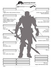 dnd 3 5 character sheet d d 5e alternate inventory page from epiclevelgaming com dont