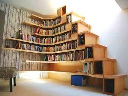 bookcases corner bookshelf awesome corner book shelves astonishing lamp books design interior shelf designs for bookcases corner