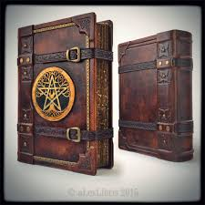 the great grimoire 9 3 x 12 7 inches by alexlibris999 tome book journal diary spellbook leather cosplay costume larp lrp equipment gear magic item
