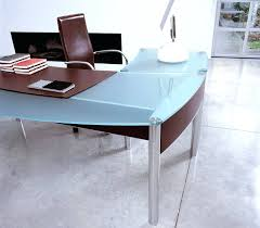 glass top office desk. Home Office Desk Top Glass Table Design Singapore S