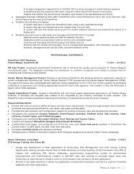a g e 2 - Sharepoint Resume Sample