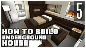 Build Underground Home How To Build An Underground House In Minecraft Part 5 Youtube