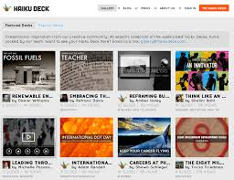 Creative Presentation Ideas A Guide To The Haiku Deck Gallery