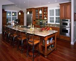 traditional open kitchen designs. Open Floor Plan Kitchen With Long Island, Eclectric And Traditional Small Designs I