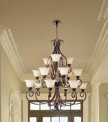 c188 2641 hamilton home oil rubbed bronze finished multi tier chandelier chandeliers lighting with frosted