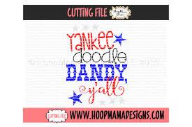 Y Designs Llc Yankee Doodle Dandy Yall By Hoopmama Designs