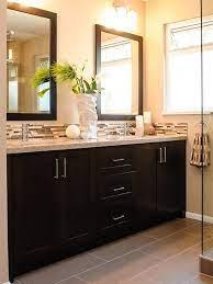 bathroom beige countertop design