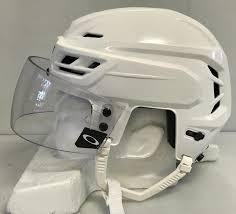 Oakley Helmet Size Chart Ccm Resistance 100 Pro Stock Hockey Helmet Small White Oakley Visor Ahl 9402