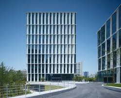 building an office. brilliant office gallery of 3cubes office building  gmp architekten  5 to an e
