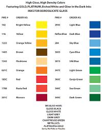 Pedco Hill Inc Color Chart
