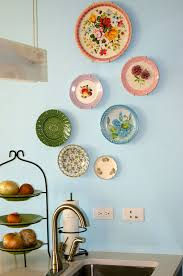 wall decor magnificent collection of decorative plates for with ideas 14