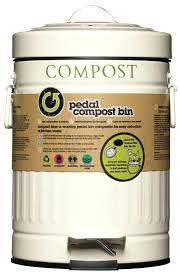 kitchen compost caddy best uk craft 3 litre cream steel bin food waste kitchen compost caddy bin